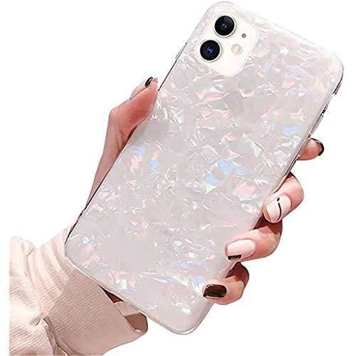 Bakicey iPhone 11 Pro hoesje, iPhone 11 mobiele telefoonhoesje marmer gouden folie shell TPU zachte siliconen krasbestendige bumper hoesje beschermhoesje voor Apple iPhone 11 Pro Max - Multi kleuren - One Size