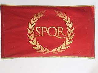 AZ FLAG Roman Empire Flag 3' x 5' for a Pole - Roman Empire Flags 90 x 150 cm - Banner 3x5 ft with Hole