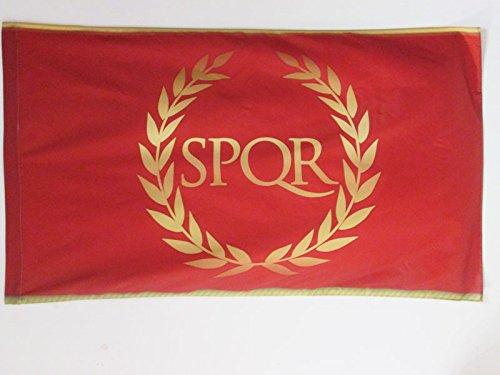 AZ FLAG Flagge RÖMISCHE KAISERZEIT 90x60cm - ROM Fahne 60 x 90 cm Scheide für Mast - flaggen Top Qualität