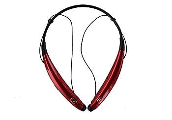 LG Tone Pro HBS-770 Bluetooth Wireless Stereo Headset Neckband - Red  Renewed