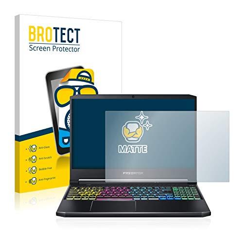 BROTECT Entspiegelungs-Schutzfolie kompatibel mit Acer Predator Helios 300 Bildschirmschutz-Folie Matt, Anti-Reflex, Anti-Fingerprint