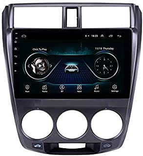Car GPS Radio 10.1 Inch Android 8.1 Touch Screen Head Unit for Honda City 2011-2016 Navigation System