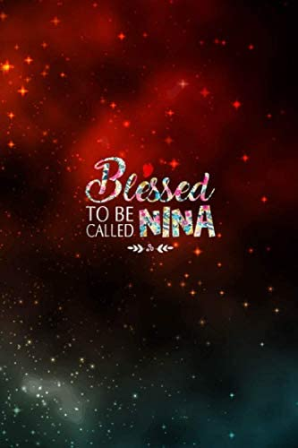 Womens Blessed To Be Called Nina Debt Tracker product image