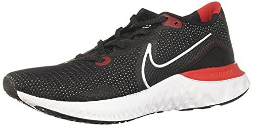 Nike Men's Renew Run SE Running Shoe (Black/White-University Red, Numeric_13)