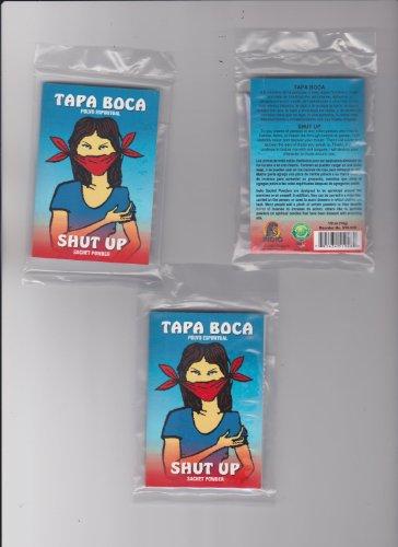 from: SUPER FAST SHIPPER HIBISCUS EXPRESS, http://www.amazon.com/shops/AXD9LOVGJXES3 TAPA Boca POLVO ESPIRITUAL - Shut UP Sachet Powder
