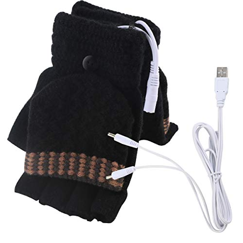 Damen- & Herren-USB-Heizhandschuhe Winterhandschuhe mit warmen Winterhandschuhen
