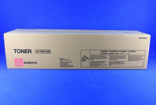 Konica Minolta C45127000páginas Magenta láser cartucho de tóner y láser () cartucho de tóner, 27000páginas; Láser; Magenta, Bizhub C550, una pieza (S)