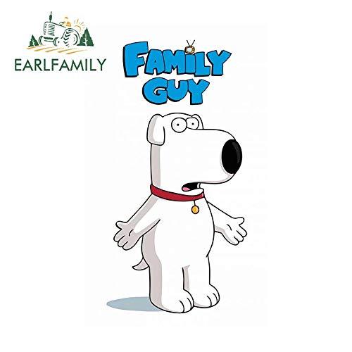 A/X 13 cm x 6,7 cm für Family Guy Motorrad Auto Aufkleber Vinyl Material Aufkleber Persönlichkeit Kreativ für Van JDM RV