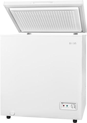 SVAN SVCH150DC Independiente Baúl 142L A+ Blanco - Congelador (Baúl, 142 L, 42 dB, 4*, A+, Blanco)