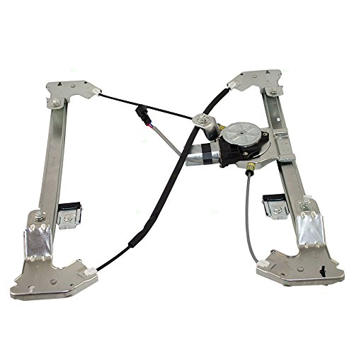 Power Window Lift Regulator with Motor Assembly Passenger Rear Replacement for Ford F150 F-150 Lincoln Pickup Truck 6L3Z1627000AA