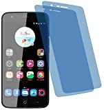 4ProTec I 2X Crystal Clear klar Schutzfolie für ZTE Blade V8 Lite Bildschirmschutzfolie Displayschutzfolie Schutzhülle Bildschirmschutz Bildschirmfolie Folie