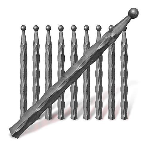 Vierkantstab 12x12 Vierkant Stahl Schiebetore Treppengeländer Tore Zaunfelder