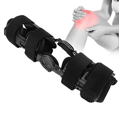 Inmovilizador de rodilla, soportes para piernas, estabilizador de recuperación de rodilla, estabilizador de ortesis para rodilla, para lesiones de ACL, MCL y PCL