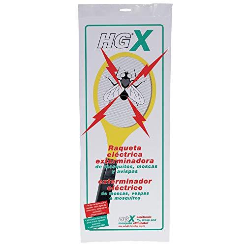 ANGOPE Raqueta eléctrica Anti Insectos - exterminadora de Mosquitos, Moscas y Avispas - rápida y Segura