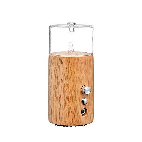 Redolence nebulizing diffuser (light wood) for professional aromatherapy by organic aromas