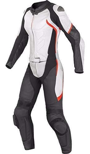 Corso Fashion Damen Motorrad Lederkombi - Motorrad Rennsport Schutzkleidung Bikerausrüstung - Maßanfertigung Style245