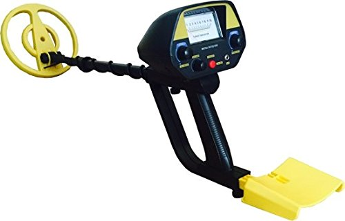 MacGyver Detector de metales Target Pinpointer, profesional, color negro/amarillo (25 x 108 cm, 6,9 kg)