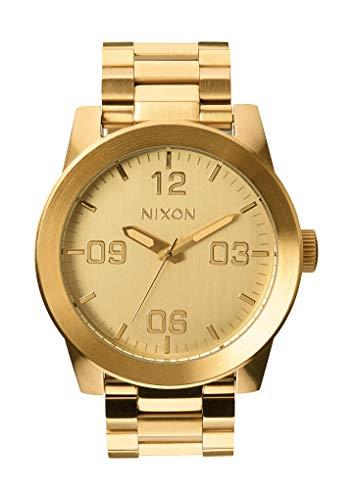Nixon Armbanduhr Corporal  Edelstahl All Gold