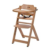 Safety 1st Timba Trona de madera con bandeja,