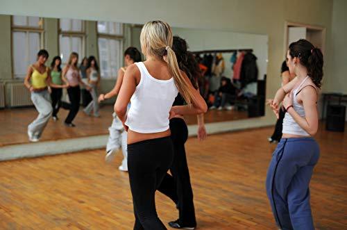 Tanzspiegel Spiegelwand Für Fitness Und Ballett Sport Premium Glas 150 x 200 cm