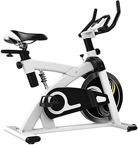 Wghz [Promozione 2021] Macchina Cardio, Cyclette per Bici da Interno, Cyclette Regolabile per la casa, Design Meccanico Triangolare, Stabile e Non tremolante, Adatto per uffici, Palestra