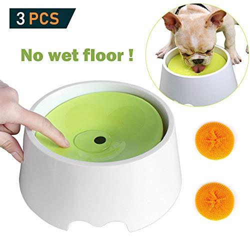 OneBarleycorn Wassernapf für Hunde, kein Verschütten, 2-in-1, innovativ, auslaufsicher, staubdicht, stoßfest, kein Verschütten, tropffrei, große Kapazität, 1000 ml