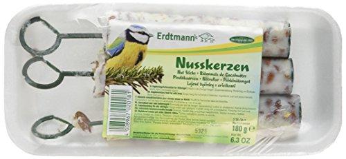Erdtmanns 3 Bâtonnets de Cacahuètes pour Oiseaux