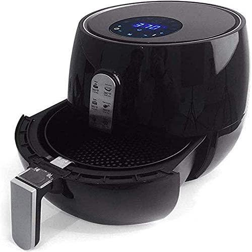 BAOZUPO Air Fryer Sistema De Circulación De Aire Rápido, Freidora Digital De Capacidad De 5.2L, Temperatura De hasta 200 °, Freidora Saludable Baja En Grasas, 1300W
