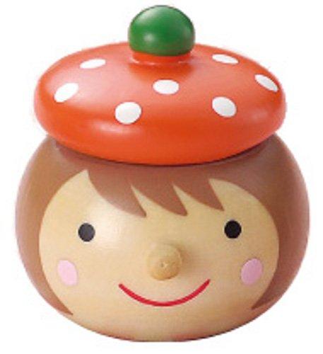 丸和貿易 乳歯ケース キンダーシュピール Girl オレンジ