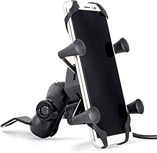 Generic Bike mobile charger universal bike cell phone spider bike Multi-functional Mobile holder x grip handlebar with fre...