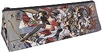 艦隊これくしょん ~艦これ~ ペンケース ポリエステル 鉛筆のサック 文具収納 ポーチ ペンシルケース 化粧ポーチ 軽量 筆箱 多機能 大容量 男女兼用 通学 鉛筆ケース ペン袋