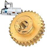 FOLOSAFENAR Engranaje de la máquina desbastadora portátil para la máquina de Papel 801