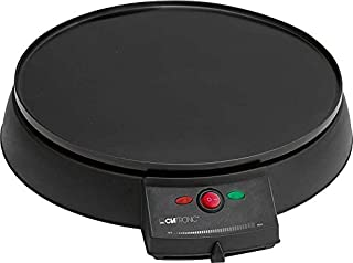 Elektrisk Crepes-Maker diameter ca 29 cm pannkaka med degspatel Crepe Crepes-järn Crepes-platta (ekonomisk 900 watt, non-s...
