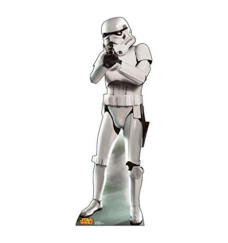 Advanced Graphics Storm Trooper Life Size Cardboard Cutout Standup - Star Wars Classics Retouched