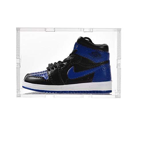 ahliwei Llavero, Zapatos De Baloncesto 3D Tridimensionales, Zapatos Pequeños, Adornos para Bolsos De Pareja, Zapatillas Creativas, Manualidades, Regalos 24