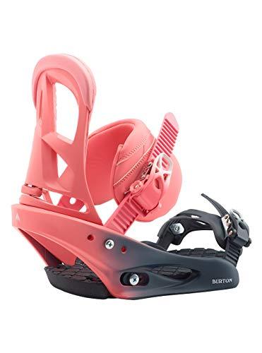 Burton Damen Stiletto Snowboard Bindung, Pink Fade, L