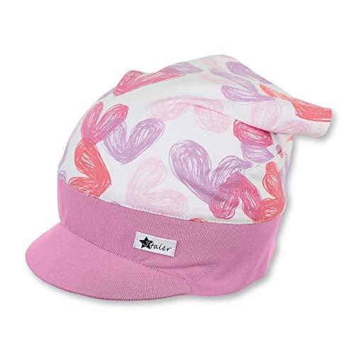 Sterntaler Baby-Mädchen Headscarf Mütze, Beige (Ecru 908), 49