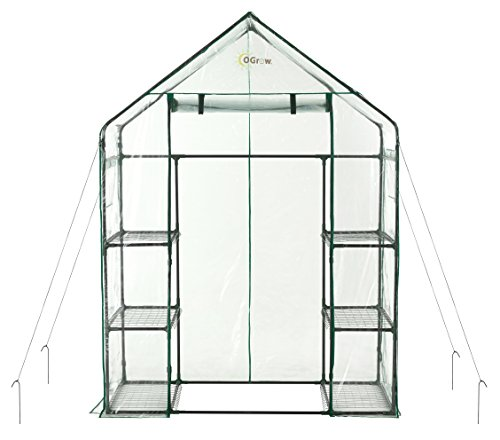 OGrow OG6834-S Greenhouse, Green