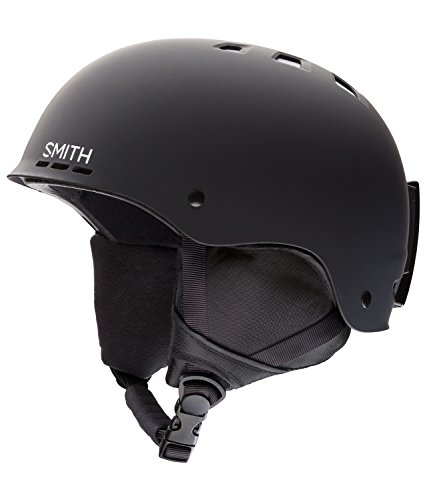 Smith Optics Unisex Adult Holt Snow Sports Helmet - Matte Black XLarge (63-67CM)