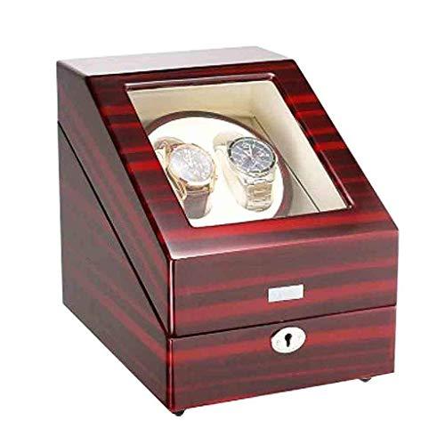ZCYXQR Enrollador de Reloj, enrollador de Reloj eléctrico automático, Caja de presentación, Caja de colección, Caja de Almacenamiento 2 + 3, Caja de Reloj con Motor eléctrico (enrolladores de Reloj)