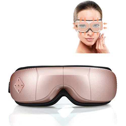 ZZZYB Appareil Sommeil Masque Vibration Massage Portatif avec pour DéTendre Les RéDuire Les Cernes Et Le Soulagement du Stress De La TêTe AméLiorer Le Sommeil