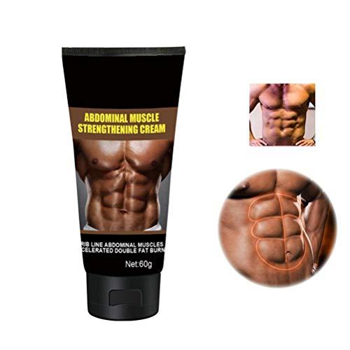 KiMiLIKE 60g Bauch Creme für Mann Fat Burning Muskelbauch Anti-Cellulite-Cremes Anti Cellulite Abnehmen Fettverbrennung Creme Firming Muskelcreme