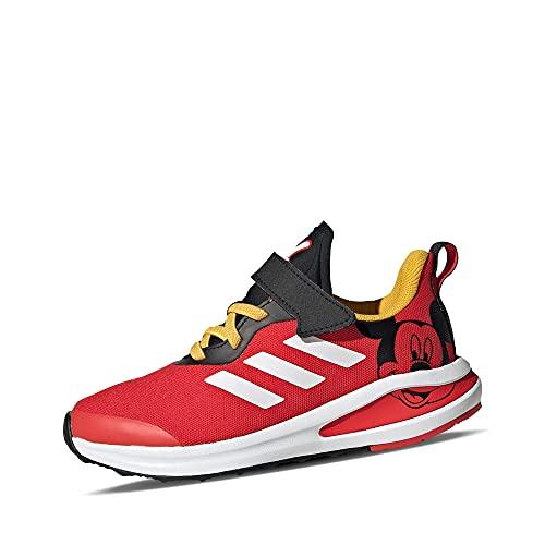 adidas Fortarun Mickey EL K Rojo/Negro (Vivid Red/Core Black) Tela 30 EU