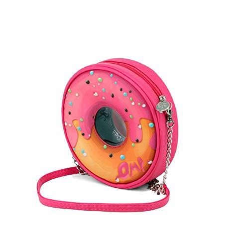 Oh My Pop Oh My Pop! Pinknut-Round Shoulder Bag schoudertas 18 centimeter roze