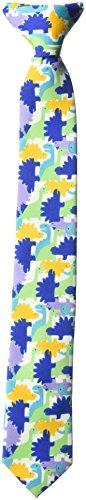 Wembley Big Boy's Clip-on Novelty Fun Print Tie multi/color, One Size
