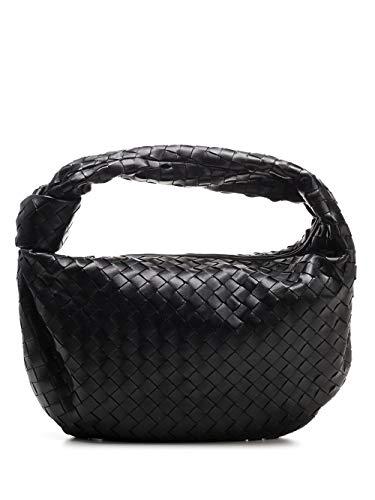 Luxury Fashion | Bottega Veneta Woman 600261VCPP01229 Black Leather Shoulder Bag | Spring Summer 20