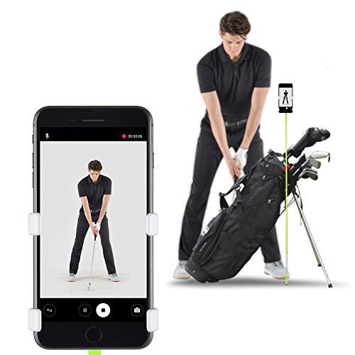 SelfieGOLF Record Golf Swing Support de Clip pour téléphone Portable et Accessoires d'aide à...
