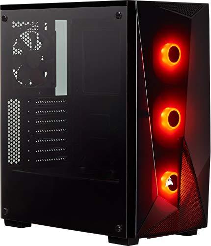 Corsair Carbide Series SPEC-DELTA Case da Gaming Mid-Tower RGB, Vetro Temprato, Nero