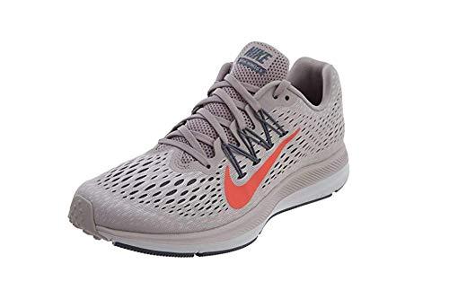 Nike Women's Air Zoom Winflo 5 Running Shoes, Gunsmoke/True Berry Size 6.5