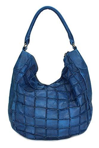 FREDsBRUDER Waffel Collection Waffeltier Shoulder Bag Royal Navy